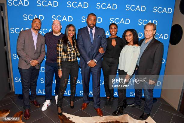 Damon Gupton Marvin Krondon Jones III Nafessa Williams Cress Williams Christine Adams China Anne McClain and James Remar attend a screening and QA...