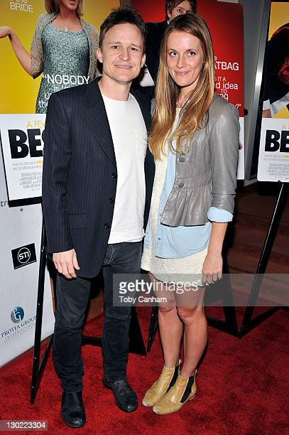 Damon Herriman and Catherine Mac attend the Australians in Film screening of 'A Few Best Men' held at the Academy of Motion Picture Arts and Sciences...