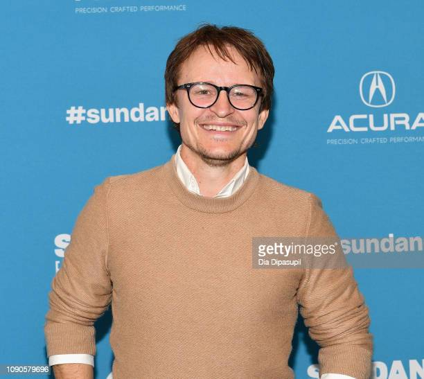 """Damon Herriman attends the Judy & Punch"""" Premiere during the 2019 Sundance Film Festival at The Ray on January 27, 2019 in Park City, Utah."""