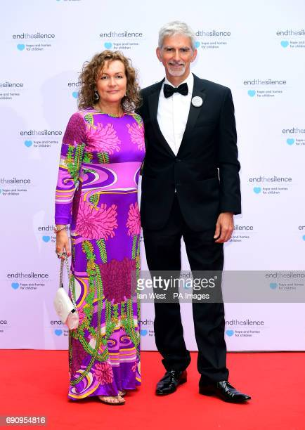Damon Hill and Georgie Hill attending the End the Silence Charity Fundraiser at Abbey Road Studios, London.