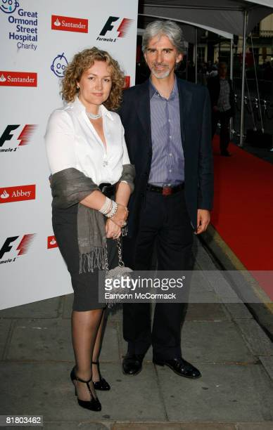 Damon Hill and wife Georgie Hill attend the F1 Party at Bloomsbury Ballroom on July 2, 2008 in London, England.