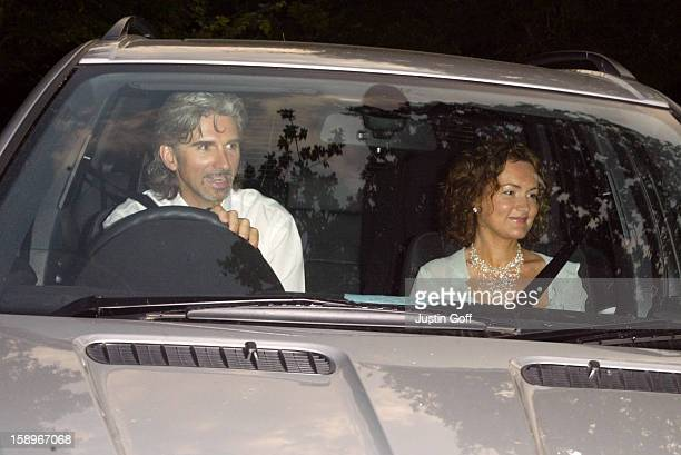 Damon Hill Attends The 'White Tie & Tiara Ball', Hosted By Elton John At His Home In Windsor.