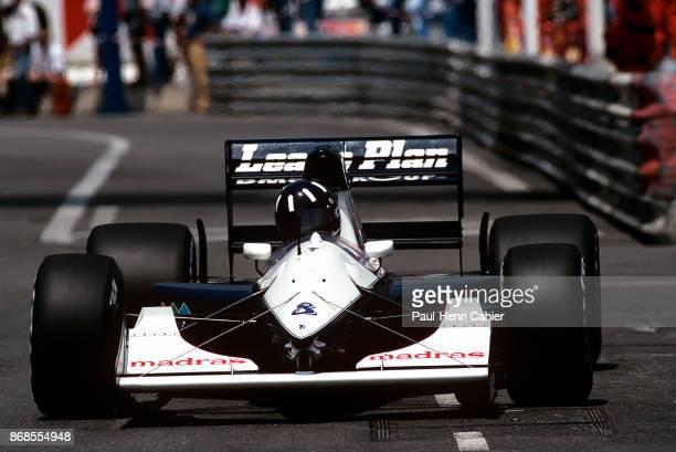 Damon Hill, Brabham-Judd BT60B, Grand Prix of Monaco, Circuit de Monaco, 31 May 1992. Damon Hill in the 1992 Monaco Grand Prix, where he only raced...