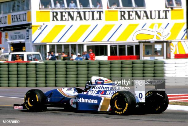 Damon Hill driving a Williams FW16 at MagnyCours French GP 2nd