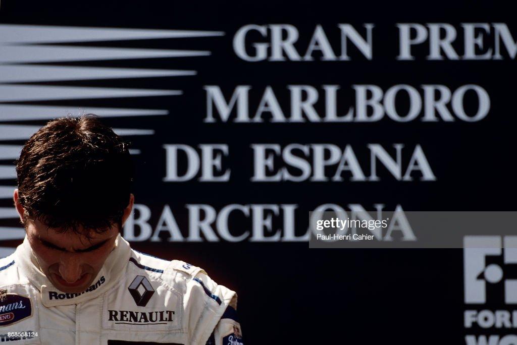 Damon Hill, Grand Prix Of Spain : ニュース写真
