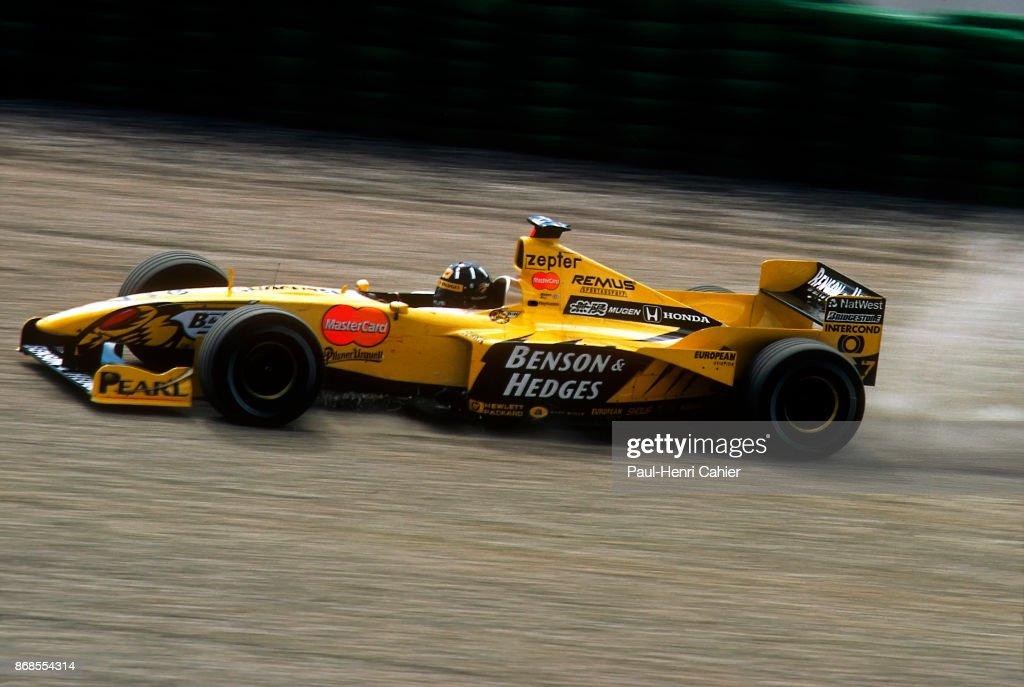 Damon Hill, Grand Prix Of Austria : News Photo
