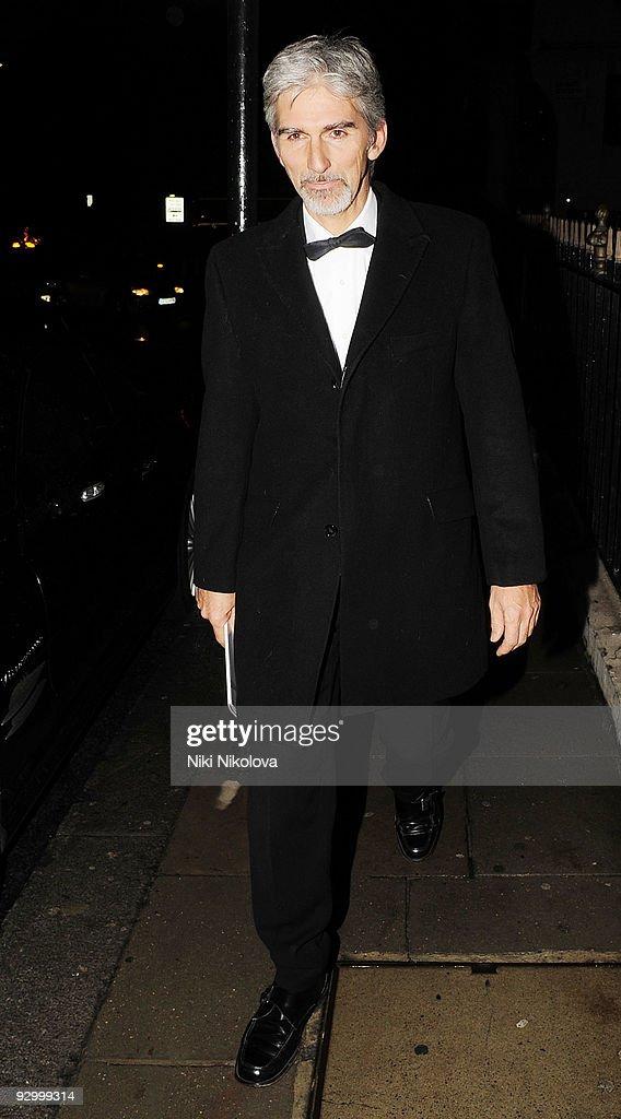 Celebrity Sightings In London - November 11, 2009