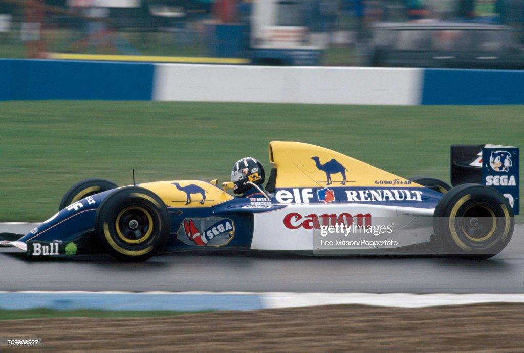 European Grand Prix - Damon Hill : News Photo
