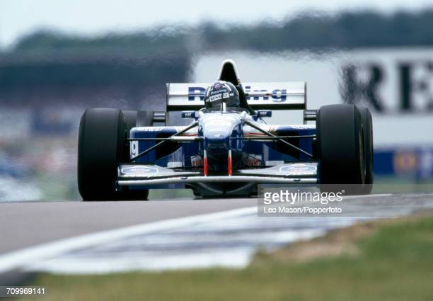 Damon Hill of Great Britain driving a Williams FW17 with a Renault RS7 30 V10 engine for Rothmans Williams Renault in action during the Formula One...