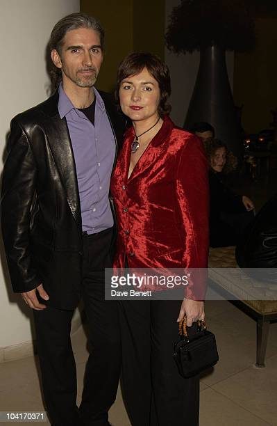 """Damon Hill & Wife, """"Burns Supper"""" In Aid Of Sargents Cancer Care For Children And Rachel House Childrens Hospice, Hosted By Ewan Mcgregor, Sharleen..."""