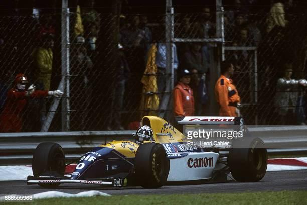 Damon Hill WilliamsRenault FW15C Grand Prix of Italy Autodromo Nazionale Monza 12 September 1993