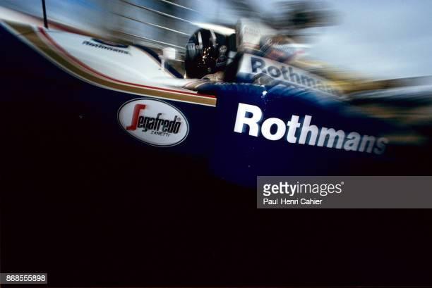 Damon Hill WilliamsRenault FW16 Grand Prix of Brazil Autodromo Jose Carlos Pace Interlagos 27 March 1994