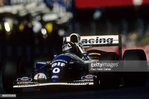Damon Hill WilliamsRenault FW16 Grand Prix of Great Britain Silverstone Circuit 10 July 1994