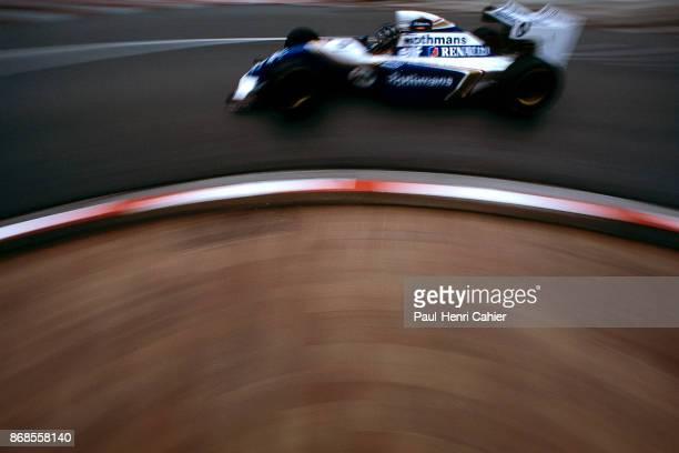Damon Hill WilliamsRenault FW16 Grand Prix of Monaco Circuit de Monaco 15 May 1994