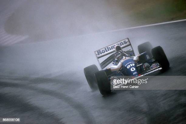 Damon Hill, Williams-Renault FW16B, Grand Prix of Japan, Suzuka Circuit, 06 November 1994. Damon Hill on his way to victory in the 1994 Grand Prix of...