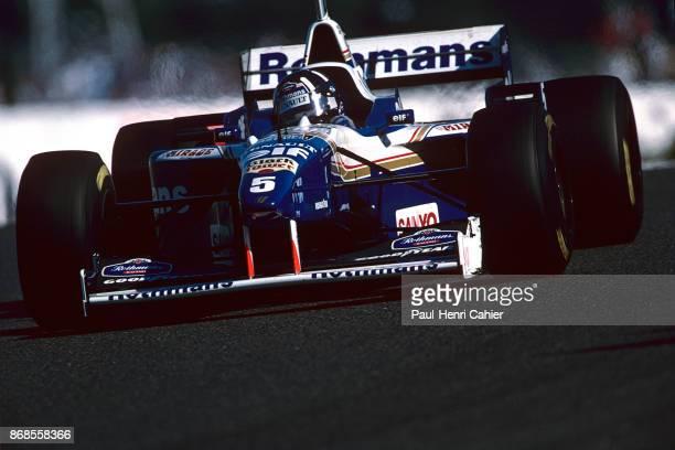 Damon Hill, Williams-Renault FW18, Grand Prix of Japan, Suzuka Circuit, 13 October 1996.