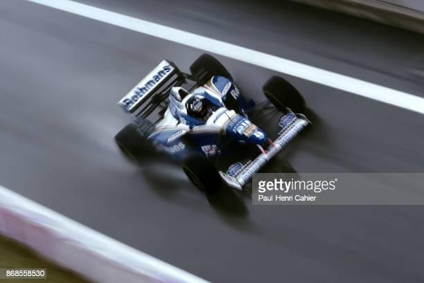 Damon Hill WilliamsRenault FW18 Grand Prix of Spain Circuit de BarcelonaCatalunya 02 June 1996