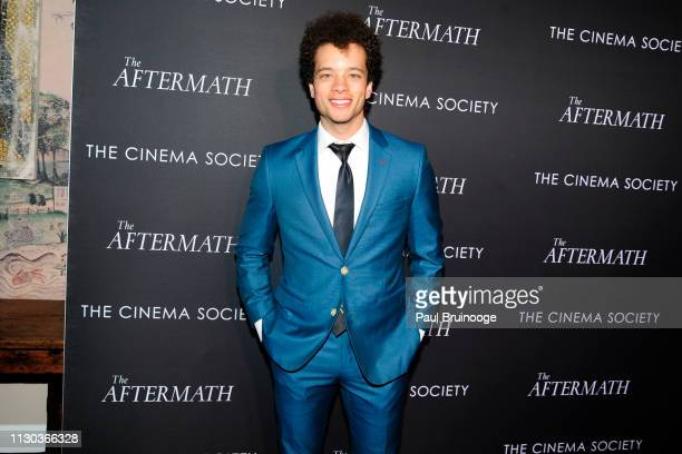 Damon J Gillespie attends Fox Searchlight Pictures Hosts A Special Screening Of The Aftermath at The Whitby Hotel on March 13 2019 in New York City