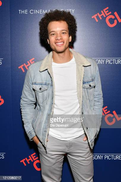 Damon J Gillespie attends the screening of The Climb at iPic Theater on March 12 2020 in New York City