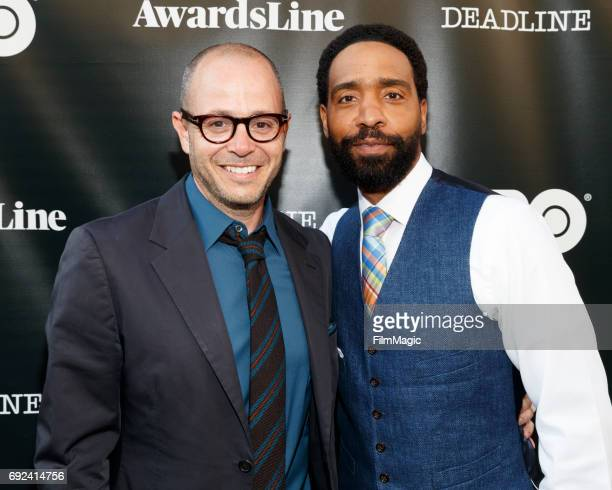 """Damon Lindelof, Executive Producer, Co-Creator and actor Kevin Carroll, John Murphy arrive at HBO's """"The Leftovers"""" - FYC on June 4, 2017 in Los..."""