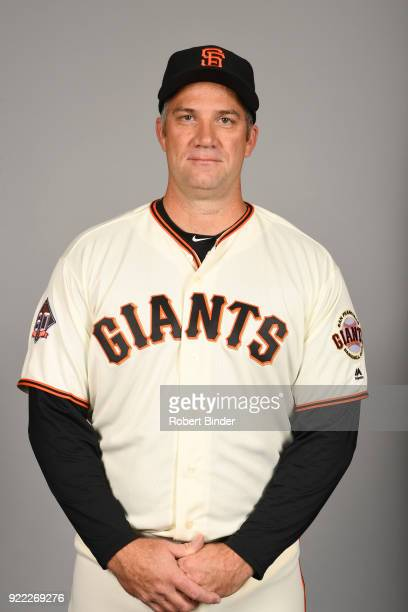 Damon Minor of the San Francisco Giants poses during Photo Day on Tuesday February 20 2018 at Scottsdale Stadium in Scottsdale Arizona