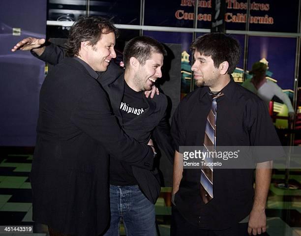 Damon Santostefano Rick Gomez Josh Gomez during CineVegas Film Festival 2003 Screening of Last Man Running at The Palms Casino Resort in Las Vegas...