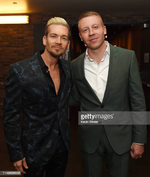 Damon Sharpe and Macklemore attend MusiCares® Concert For Recovery Presented by Amazon Music Honoring Macklemore at The Novo at LA Live on May 16...