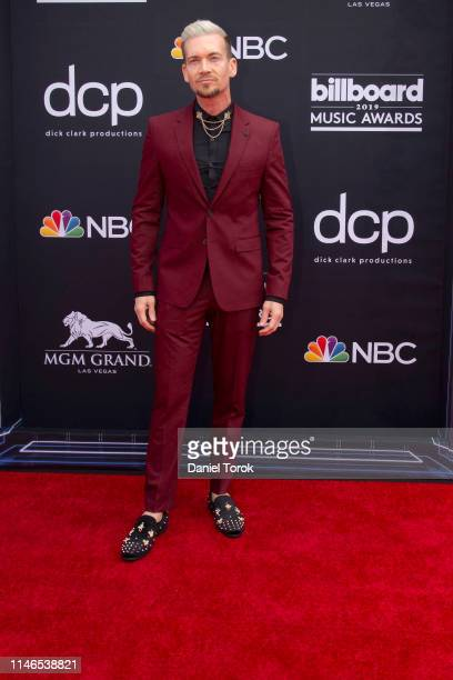Damon Sharpe arrives the '2019 Billboard Music Awards' at MGM Grand Arena on May 01 2019 in Las Vegas Nevada