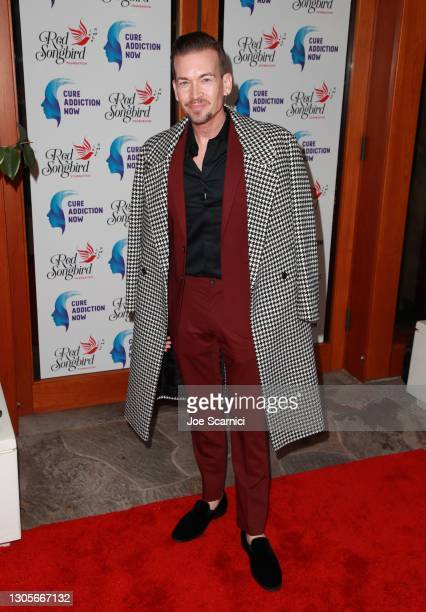 """Damon Sharpe attends a private event with the cast of MTV's """"The Hills"""" hosted by Cure Addiction Now & The Red Songbird Foundation on March 05, 2021..."""