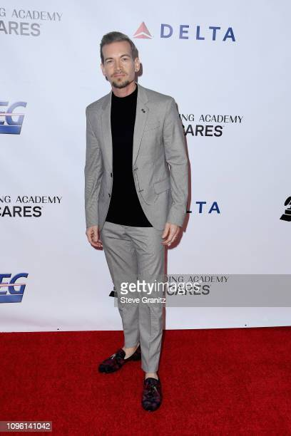 Damon Sharpe attends MusiCares Person of the Year honoring Dolly Parton at Los Angeles Convention Center on February 8 2019 in Los Angeles California