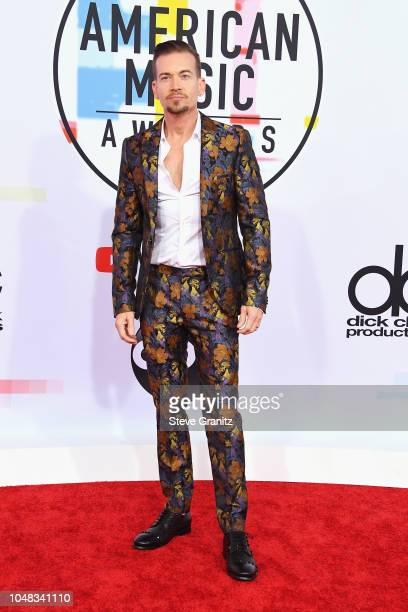 Damon Sharpe attends the 2018 American Music Awards at Microsoft Theater on October 9 2018 in Los Angeles California