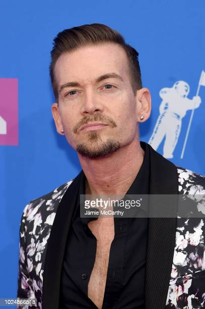 Damon Sharpe attends the 2018 MTV Video Music Awards at Radio City Music Hall on August 20 2018 in New York City