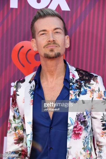 Damon Sharpe attends the 2019 iHeartRadio Music Awards which broadcasted live on FOX at Microsoft Theater on March 14 2019 in Los Angeles California