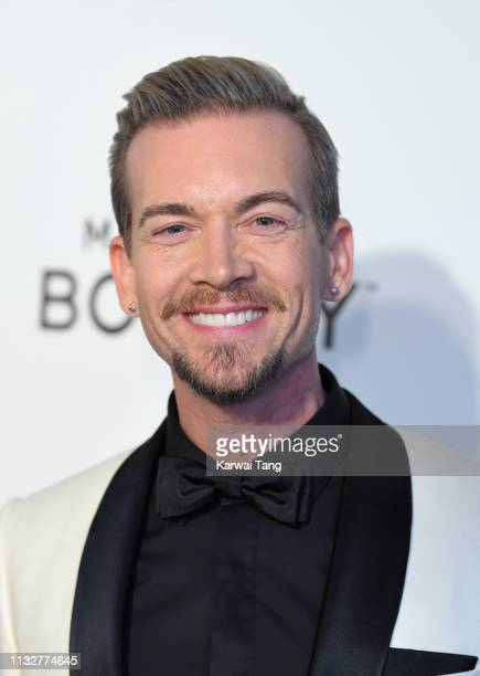 Damon Sharpe attends the 27th annual Elton John AIDS Foundation Academy Awards Viewing Party Celebrating EJAF And The 91st Academy Awards on February...