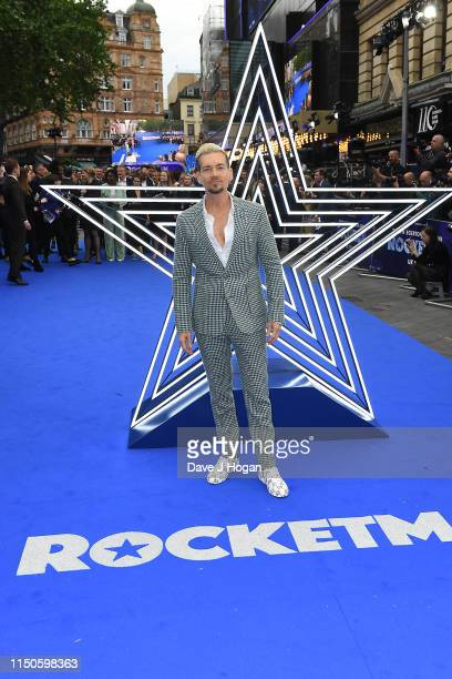 Damon Sharpe attends the Rocketman UK premiere at Odeon Leicester Square on May 20 2019 in London England
