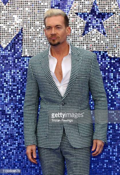 Damon Sharpe attends the Rocketman UK premiere at Odeon Luxe Leicester Square on May 20 2019 in London England