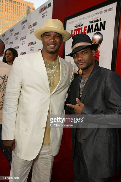 Damon Wayans and Damien Dante Wayans during The Premiere of Columbia Pictures and Revolution Studios Little Man at Mann National Theatre in Westwood...