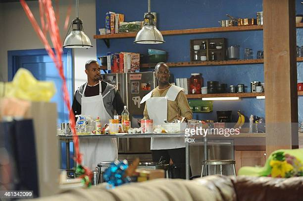 """Damon Wayans, Jr. And Lamorne Morris in the """"Birthday"""" episode of NEW GIRL airing Tuesday, Jan. 21, 2014 on FOX."""