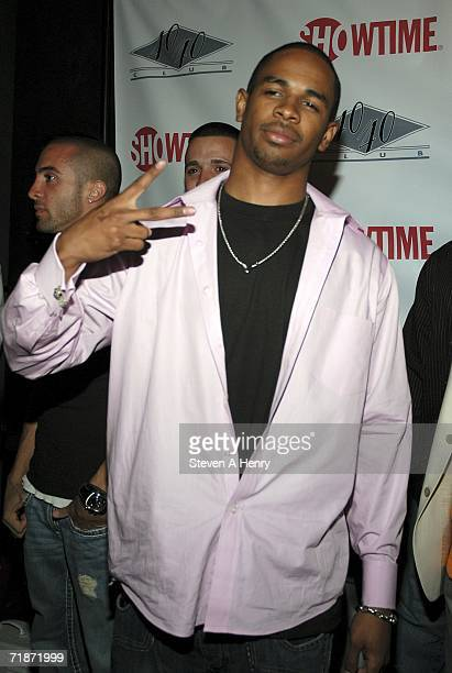 "Damon Wayans Jr. Attends the New York Premiere of Showtime's Damon Wayans' ""The Underground"" at the 40/40 Club on September 12, 2006 in New York City."
