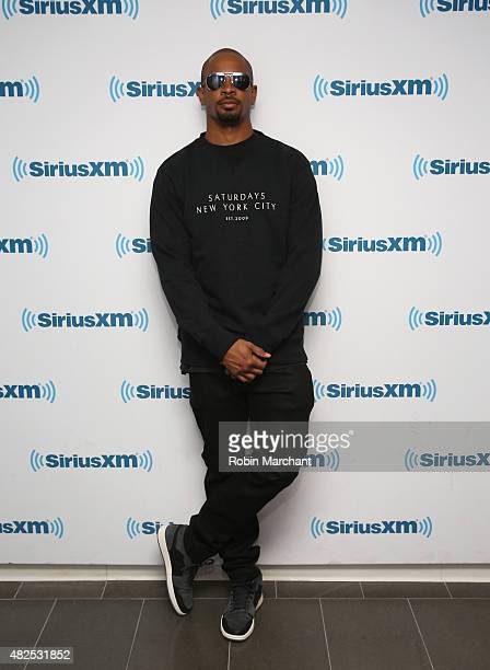Damon Wayans Jr visits at SiriusXM Studios on July 31 2015 in New York City
