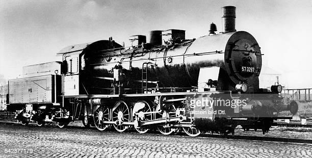 Dampflokomotive der Baureihe 57 3297 Gueterzuglok der Preussischen Staatsbahn Baujahr 1910 oJ