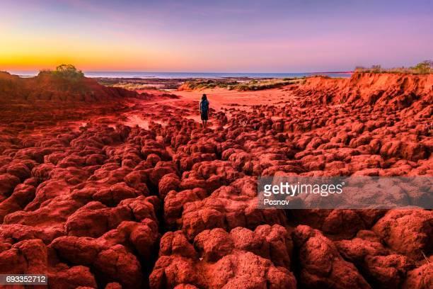 dampier peninsula - austrália ocidental - fotografias e filmes do acervo