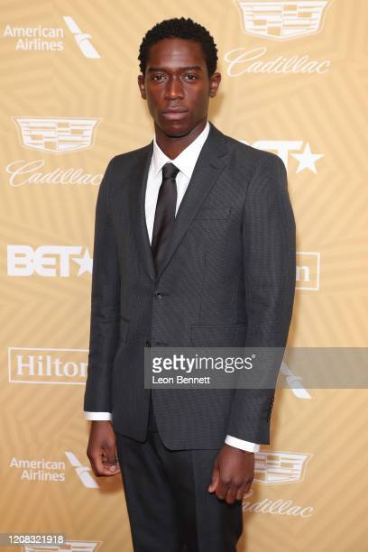 Damson Idris attends American Black Film Festival Honors Awards Ceremony at The Beverly Hilton Hotel on February 23, 2020 in Beverly Hills,...