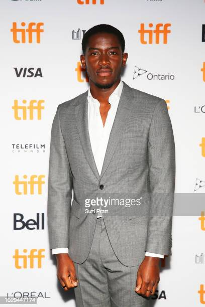 Damson Idris attends the 'Farming' premiere during 2018 Toronto International Film Festival at Scotiabank Theatre on September 8 2018 in Toronto...