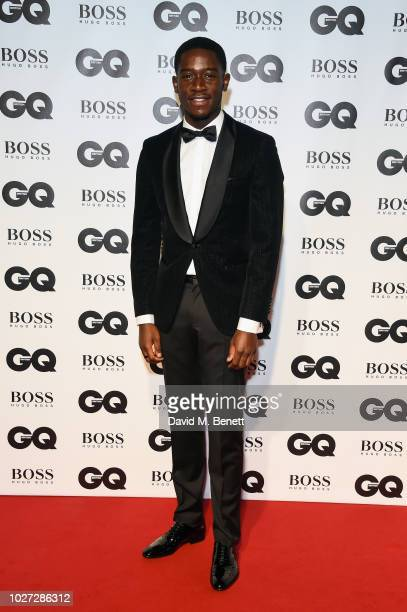 Damson Idris attends the GQ Men of the Year Awards 2018 in association with HUGO BOSS at Tate Modern on September 5 2018 in London England