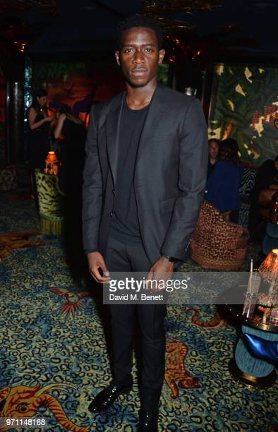 Damson Idris attends the GQ Style and Browns LFWM Party at Annabels on June 10 2018 in London England