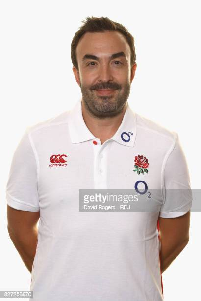 Dan Abrahams the England physiologist poses for a portrait at The Lensbury on August 5 2017 in Teddington England