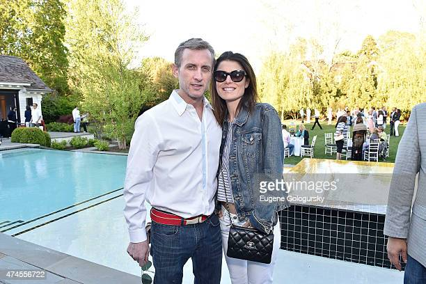 Dan Abrams and Florinka Pesenti attend the Hamptons Magazine Celebration of Its Memorial Day KickOff Event With Cover Star Tracy Anderson on May 23...