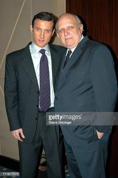 """Dan Abrams and Floyd Abrams during """"The Fog of War"""" New York Private Screening at MGM Screening Room in New York City, New York, United States."""
