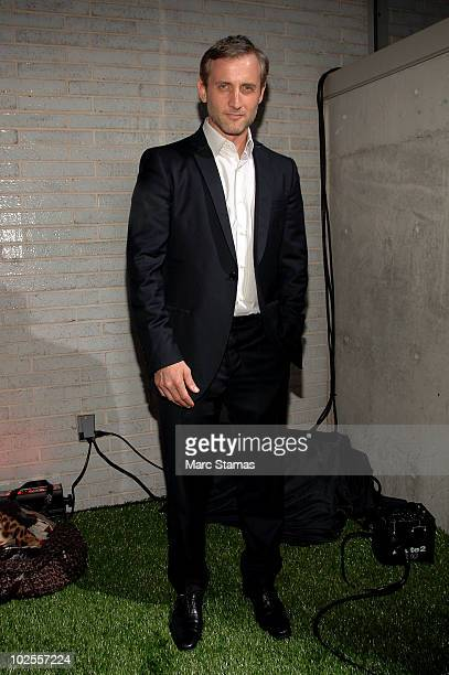 Dan Abrams attends Salvatore Ferragamo's Attimo fragrance launch party at The Standard on June 30 2010 in New York City